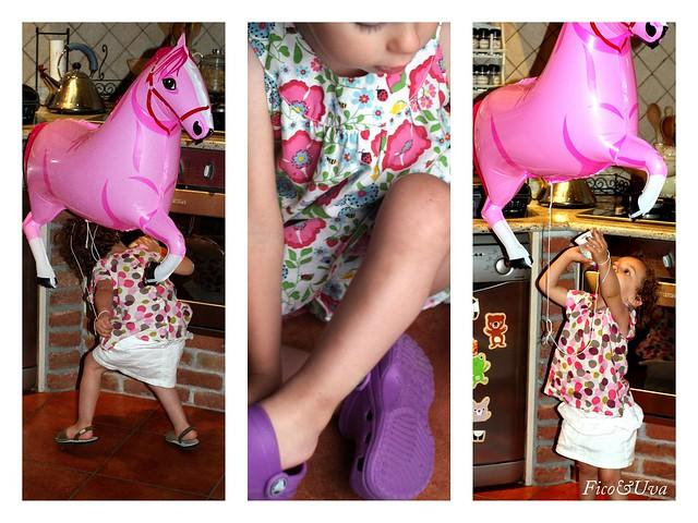 Cavallino rosa e Vicky