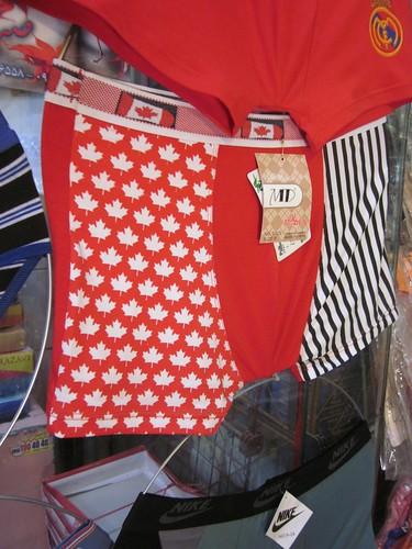 Canadian underwear in IRAN!