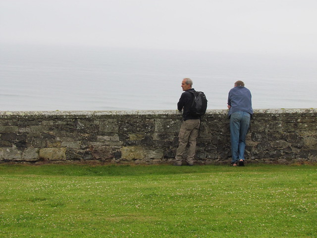 unknown men at bamburgh castle