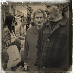 New look:old look (Paul..Andrews) Tags: street new old people scotland dundee elderly newlook iphone spnp lomob iphoneography instruction41