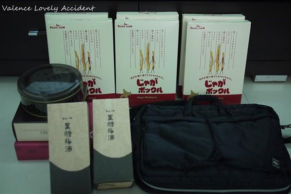 離開大阪機場的最後一買