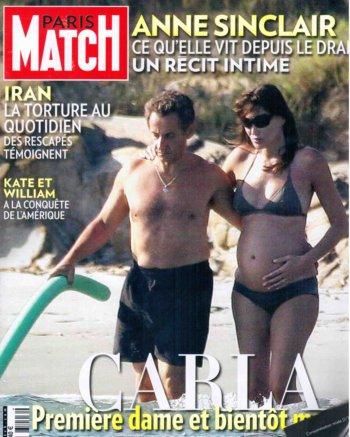 11g14 Carla Bruni embarazada y en bañador variante baja