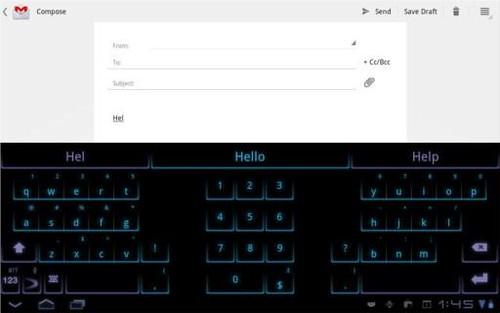SwiftKey Tablet X