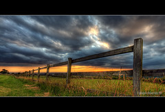 Friday is better than a day without rain (gobayode photography...times) Tags: landscape feelingblue fences woodenfence grassland farmsunset hdr bigclouds hff fridayfeeling offence offences farmscapes naturecolours sunsetlandscapes happyfencefriday sunsetfarmland weekendstarts farmlandfences hffgdr hffhdr