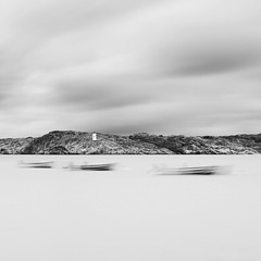 - -   - (Geoffrey Gilson) Tags: white black silver boats landscapes long exposure noir sweden smooth silk minimalism blanc paysages doux efex nd500