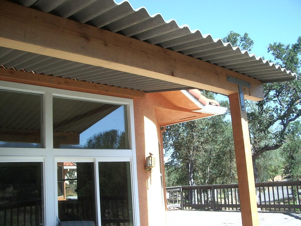 Profile 6 Patio Cover (Fiber Cement Boards) Tags: Patio Corrugated Roofing  Fibercement