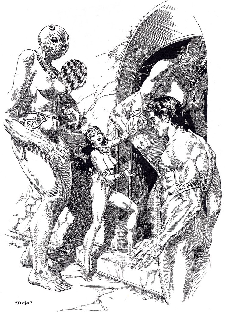 Thomas Yeates - John Carter Of Mars, Illustration 2