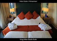 Modern Hospitality // Beautiful ambiance // Grand Location // King Hilton Studio Suite with Balcony @ The Hilton Hotel Dublin Kilmainham // Dublin // Republic of Ireland // Embrace Beauty! (|| UggBoyUggGirl || PHOTO || WORLD || TRAVEL ||) Tags: park ireland houses dublin irish marriott table island shower tv bed bedroom bath key republic arch weekend chocolate room champagne may strawberries eire plush livingroom worldwide friendly safe marble minibar roomservice citycentre kilmainham bedding dublinairport ststephensgreen booking southcity friendliness hiltonhotel dublinia roomkeys saintstephensgreen juniorsuite irishlove northcity blueskyclouds wolftone kingsizedbed irishpride hiltondublin irishluck pecksniffs may2011 moretravel smilesahead hiltonhotelsandresorts marriottbrand laveryhouse ststephenssgreenhouse hiltonkilmainham