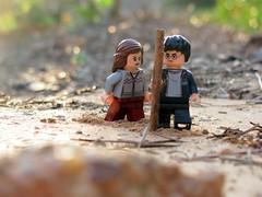 On the Run 7/7 {explored} (tru if f  fbuu kijoy) Tags: summer project outside sand rocks bokeh potter harrypotter legos monthly runaways hermionegranger ronweasley harrypotterlego thedeathlyhallows canonpowershotsx120is thedeathlyhallowspart1