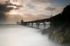 A Rough Day At Clevedon (Scott Howse) Tags: uk longexposure england sky cloud sun water coast pier rocks somerset lee filters graduated clevedon nd1000 nd110 nd30 09h