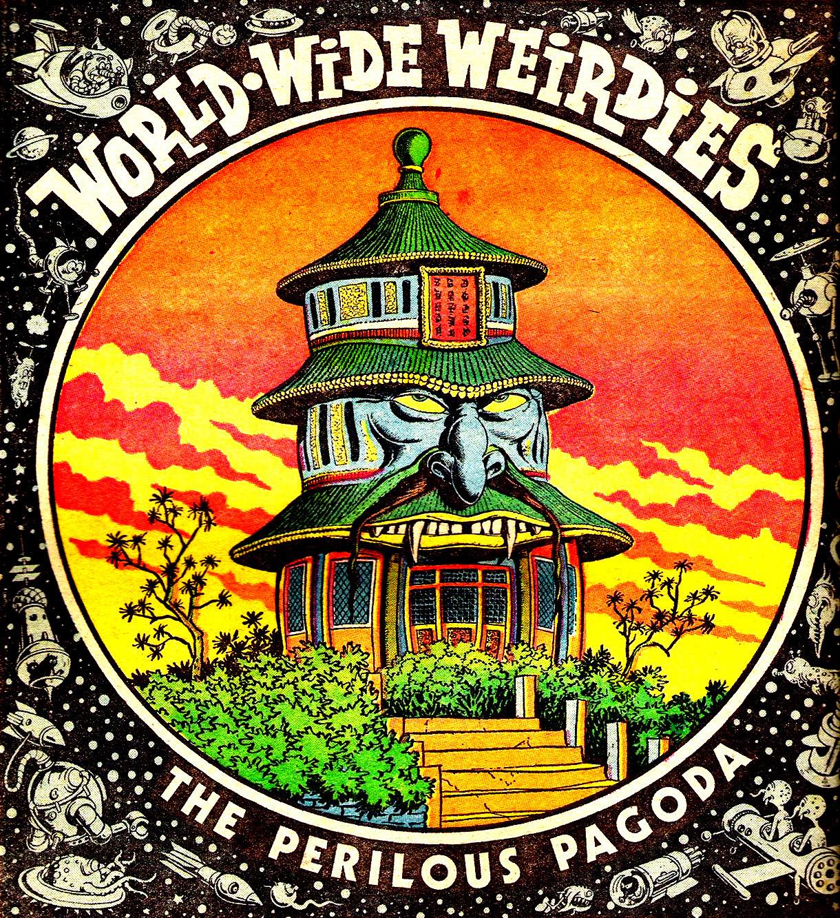 Ken Reid - World Wide Weirdies 77
