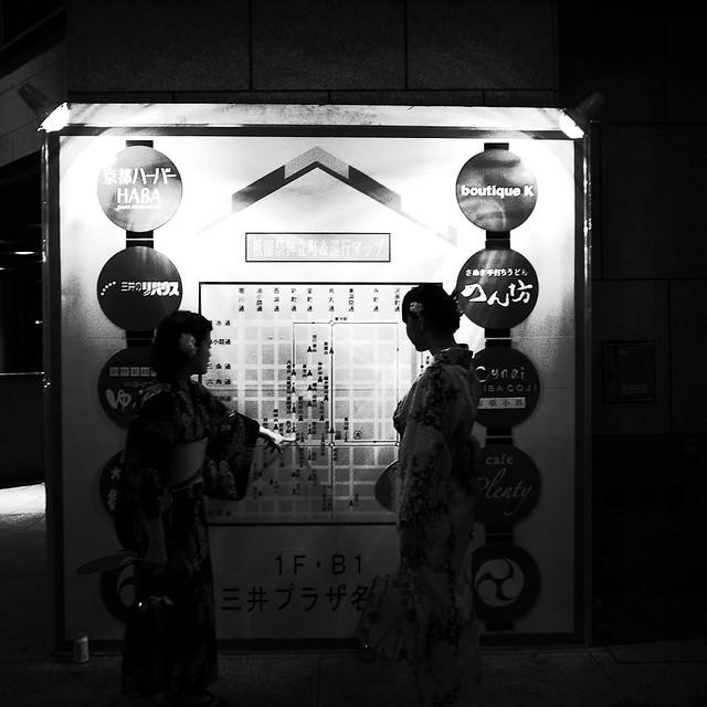 祇園祭マップ