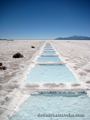 Salinas Grandes salt flats argentina