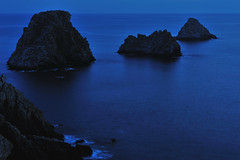 Paysage littoral - 656 (Rémi Besserre, de retour. Coming back. Zurück.) Tags: seascape france night brittany europe bretagne breizh nuit finistère pennarbed paysagelittoral