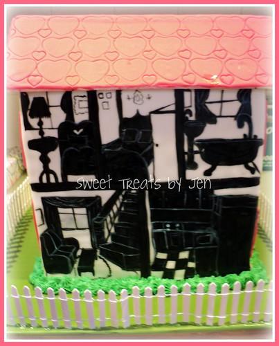Dollhouse Cake by Sweettreatsbyjen.com
