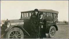 Eva & Mary, sisters in law & best friends (twm1340) Tags: county 1920s chevrolet car sepia vintage photo texas tx chevy photograph chillicothe 1919 touring hardeman