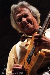John Mc Laughlin - Casa Del Jazz (RM) 18/07/2011 (Riccardo Arena Photographer) Tags: del john casa jazz mc laughlin rm 18072011