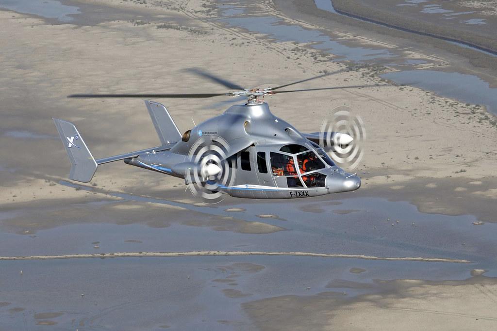 X3 Hybrid helicopter demonstrator