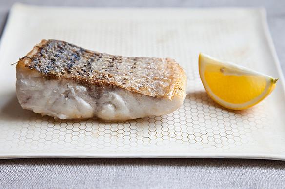 Crispy-Skinned Fish