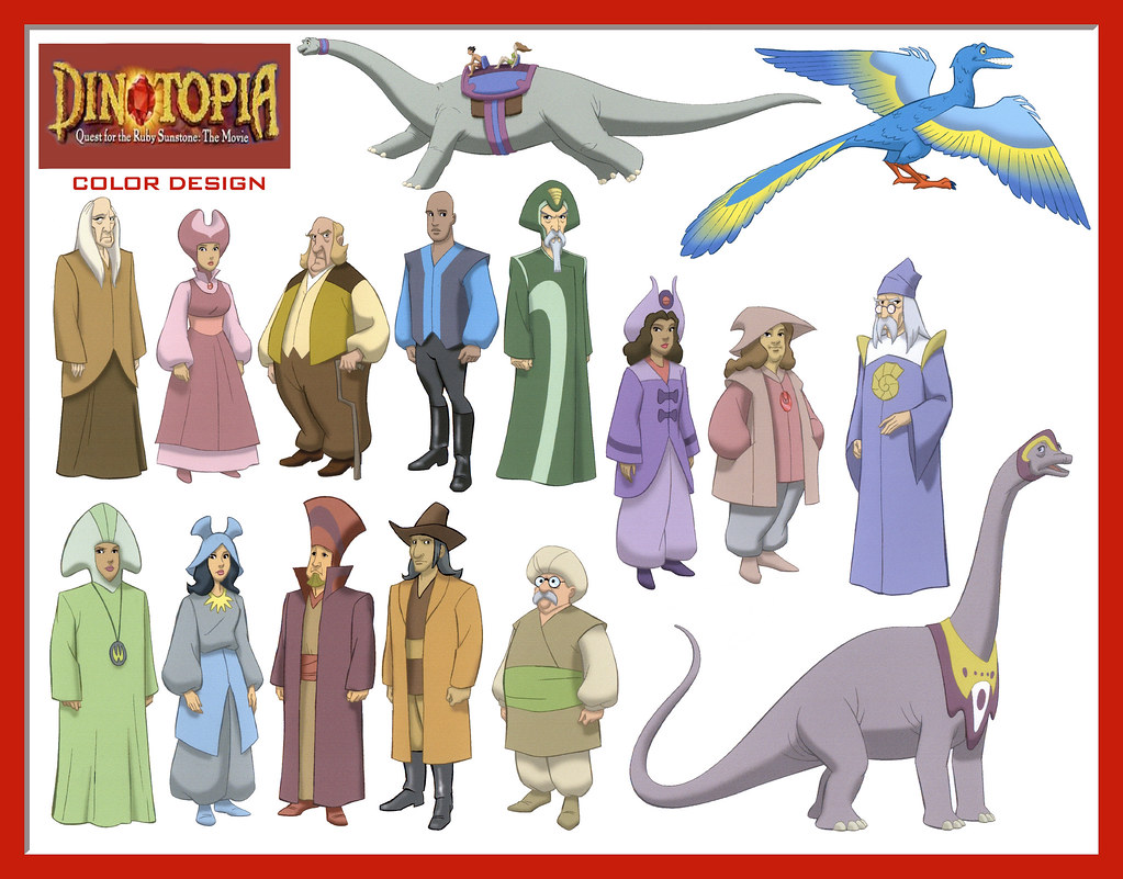 dinotopia coloring pages - photo#7
