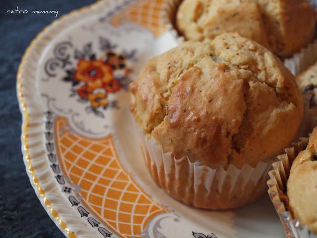 finished jaffa muffins