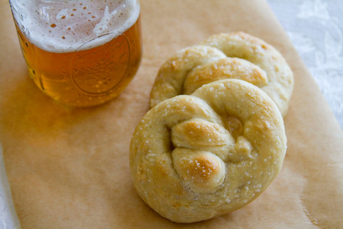 Sourdough-Beer Pretzels - 5
