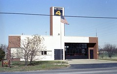 Firehouse in Columbus, Indiana (hartjeff12) Tags: columbus indiana firehouse robertventuri