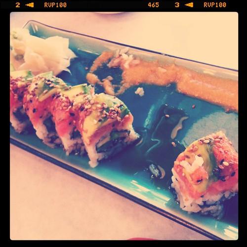 My favorite dish at Wabi Sabi - scorpion roll ! #slcsummer12