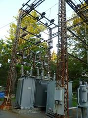small 69kv transformers (en tee gee) Tags: old newyork transformer substation 4kv 69kv