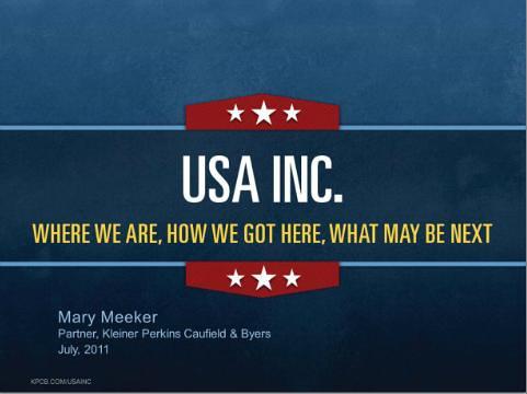 USA Inc. - Mary Meeker's latest presentation