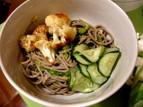 ... Ginger Scallion Noodles? They take 20 minutes and they're made with