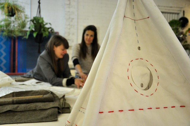 Leila Sanderson's Teepee Workshop