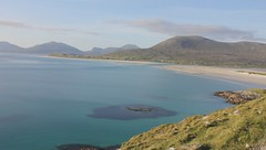 Luskentyre Bay (video) (DMeadows) Tags: sea beach water rural landscape island scotland video sand sheep turquoise hills farmer harris hebrides outerhebrides isleofharris davidmeadows dmeadows tourdehebrides yahoo:yourpictures=waterv2
