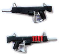 Atchisson Assault Shotgun (Catsy [CC]) Tags: mod lego automatic shotgun custom modification catsy aa12 brickarms
