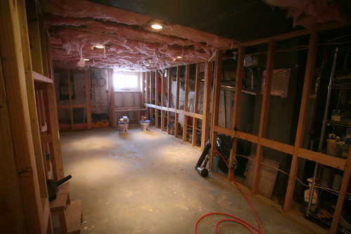 Basement Reno - Framing & Electrical Rough-In