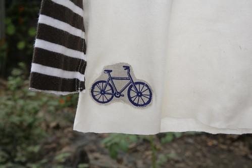 Bike tee.