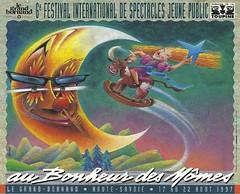 Affiche Festival Au Bonheur des Mômes-1997