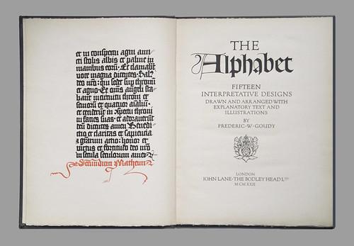 Frederic W Goudy - Alphabet - Fig2