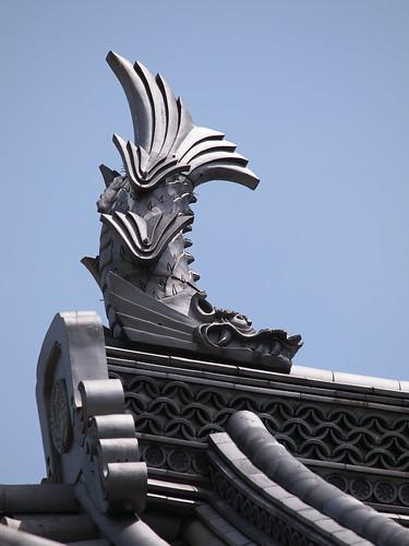 小田原城 銅門の鯱