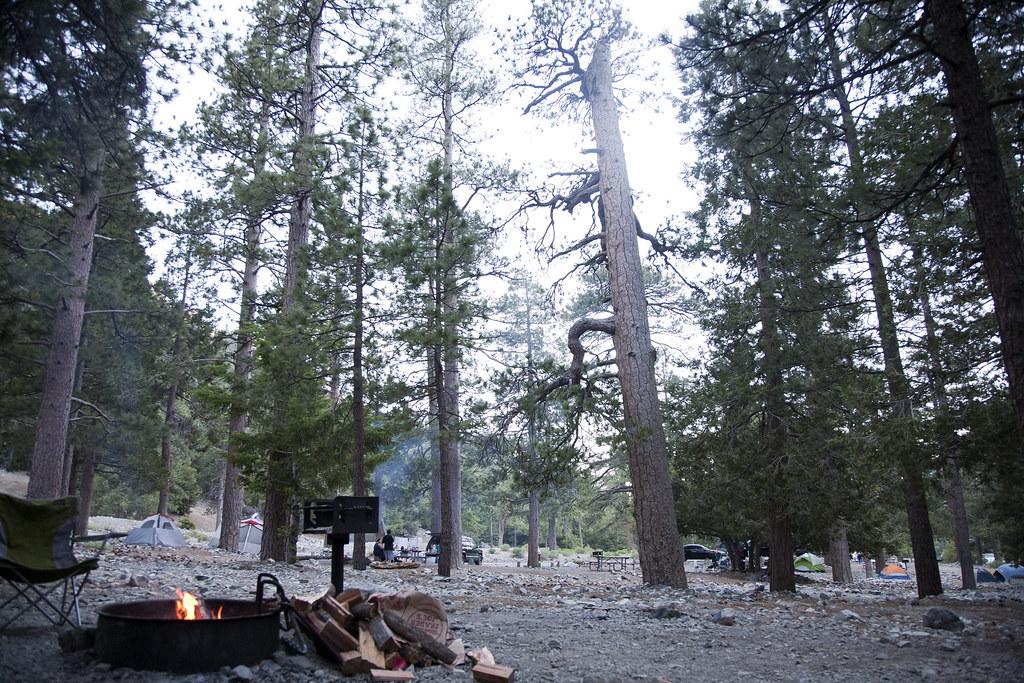 manker flats campsite
