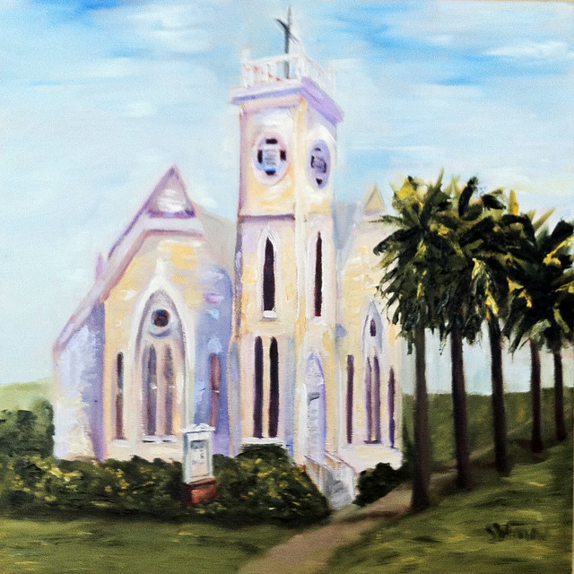 Methodist church in Apalachicola, FL
