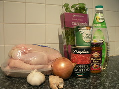 Cheater's Chicken Tikka Masala - Ingredients