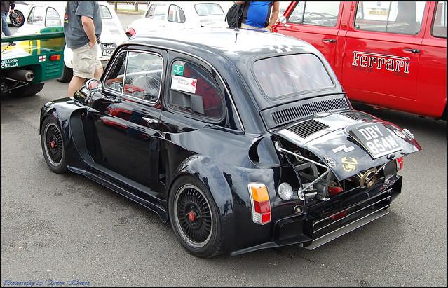 Silverstone Classic 2011 - Fiat 500 Abarth