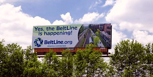 it's happening, says the sign (by: BeltLine Group)