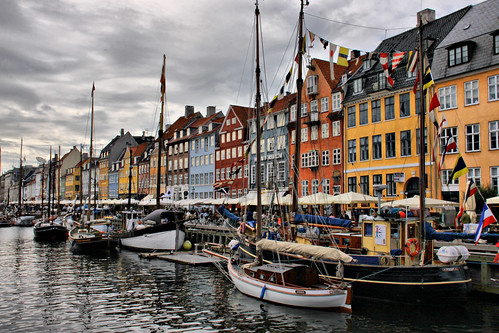 Copenhagen - Nyhavn Harbor by Jeremy Duguid
