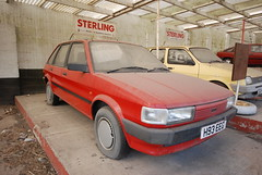Austin Maestro 'automatic' (Sam Tait) Tags: red car austin rover automatic maestro hatchback