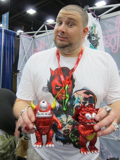 The Tarantulas and Triclops at SDCC 2011