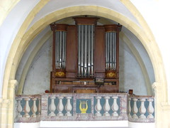 Miges, organ (pierremarteau) Tags: organ jura orgel orgue franchcomt mieges