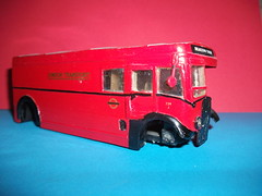 Offside view of 1/50th scale LT Breakdown tender. (Ledlon89) Tags: bus london transport lt londonbus solido scalemodels scaleddown servicevehicles aecregent ltsv breakdowntender modelbusesandcoaches