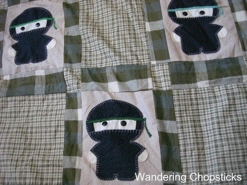 The Middle '87's Ninja Quilt 2
